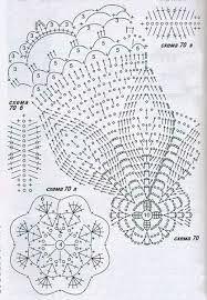 Výsledek obrázku pro вязаные колокольчики схемы