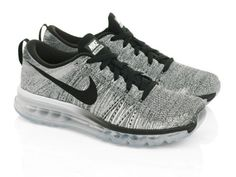 Nike-Flyknit-Air-Max-Oreo-Color-620469-102-Mens-US-Size-8-10-Rare-Limited-Stock