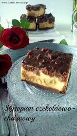 Słodkie Rewolucje: Styropian czekoladowo-chałwowy (sernik bez sera) Poke Cakes, Lava Cakes, Baking Recipes, Cake Recipes, Dessert Recipes, Milk Cake, Polish Recipes, Polish Food, Brownie Cake