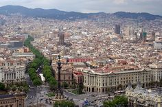Barcelona overview (Ramblas)   Barcelona Airport ! , Costa Brava & Catalunya The best excursions in Barcelona with pleasure; your guide to Catalonia and Spain http://barcel