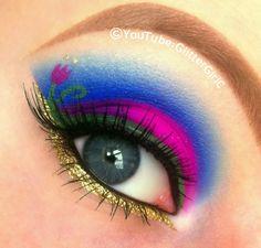 Disney Frozen Anna makeup. YouTube channel: https://www.youtube.com/user/GlitterGirlC