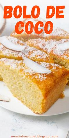 Bolos Low Carb, Vanilla Cake, French Toast, Diet, Breakfast, Diabetes, Desserts, Banana, Food
