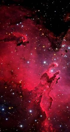 Red-Nebula-Galaxy-iPhone-Wallpaper - Best of Wallpapers for Andriod and ios Android Wallpaper Art, Space Iphone Wallpaper, Nebula Wallpaper, Star Wallpaper, Iphone Wallpapers, Wallpaper Backgrounds, Galaxia Wallpaper, Cosmos, Eagle Nebula