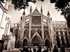 Churches are amazingly beautiful. Westminster Abbey