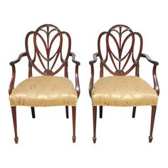 Antiques Nice Mid Century Louis Xvi Slipper French Hollywood Regency Neoclassical Club Chairs Fancy Colours Chairs