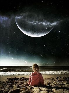 Moon child (by Michał Koralewski - mobile photography) Iphone Photography, Mobile Photography, Sombra Lunar, Ciel Nocturne, Foto Top, Moon Dance, Shoot The Moon, Moon Shadow, Sun Moon Stars