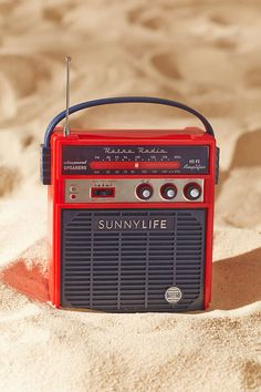 Sunnylife Retro Sounds Radio Speaker - Urban Outfitters