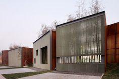 mesh screen facade