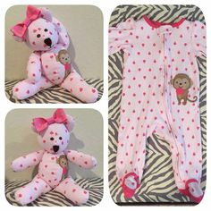 Great idea to repurpose your favorite baby pj's! http://www.babyboyeasteroutfits.com/category/baby-gift/