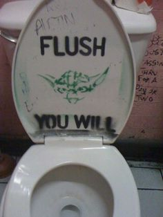 Maybe Carlee will remember to flush if this was on the toilet!!