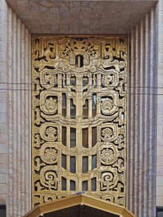 San Francisco Deco Ornament by Atelier Teee, via Flickr