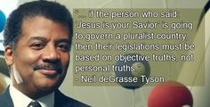 America's favorite astrophysicist Neil deGrasse Tyson warns that lawmakers who mistake their personal truth for objective truth could bring about the end of democracy and the beginning of dictatorship.