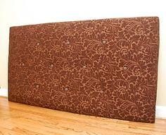 DIY - Upholstered Headboard