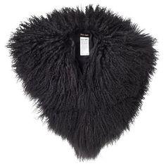 Phase Eight Hatty mongolian fur collar- at Debenhams.com