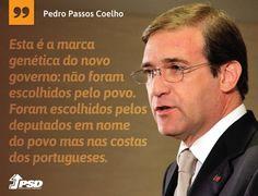 Esta é a marca genética do novo Governo de Portugal. #pedropassoscoelho #PSD