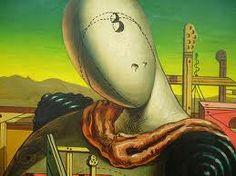Scuola metafisica.-Giorgio de Chirico si ritorna ai valori della forma, ma sempre con una realtà distorta e senza tempo