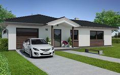 Návrh rodinných domů Bungalov OK od APEX ARCH s.r.o.