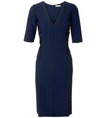 Kleid mit Blütenstickerei Navy/Schwarz. Mir fehlt ein neues