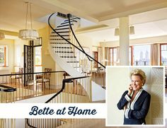 Bette Midler at Home in New York | hookedonhouses.net