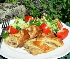 Chicken Wellington - This was AWESOME! Mine didn't look like this picture but was sooo good. The only change I made was adding worcestershire sauce to my veggies as I was sauteing them. And  a little to the cream cheese mixture. YUMMY!!!!!!