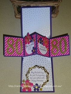 Cards on the table with Vicki: Pop Up Panel Card