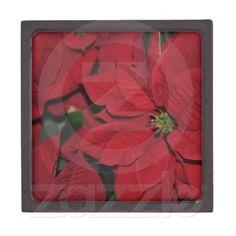 Red Poinsettia Premium Gift Boxes