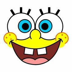Spongebob Faces, Spongebob Cartoon, Spongebob Birthday Party, 6th Birthday Parties, Spongebob Squarepants Drawing, Paper Crafts Origami, Valentine Box, Valentine Decorations, Birthday Photos