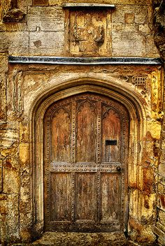 Old Cathedral Door