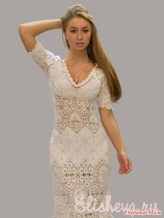 """Very showy dress!: Diary of """"knit together online"""" - Country Mom"""