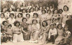 Muğla Ula da bir düğün hatırası, 1950 'ler.