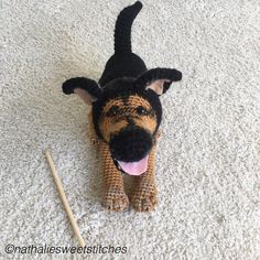 German Shepherd Pdf Crochet Pattern Crochet Animals