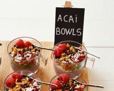 Acai Berry Bowls