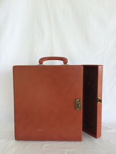 Vintage Box Briefcase $20