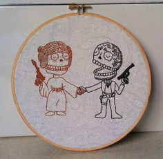MThrasher's Star Wars Day of the Dead Hoopla