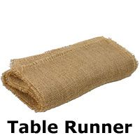 Check out the deal on Burlap Wholesale Fringe Edge Table Runner 12.5 x 96 Inch - Natural Jute at Battery Operated Candles