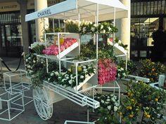 Chanel flower market!