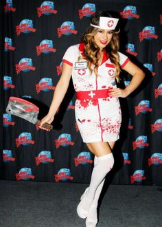 Allyson (Ally) Brooke Hernandez from Fifth Harmony at the Halloween party!