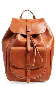 5f06848c5d74 Madewell  The Transport  Leather Rucksack available at  Nordstrom Leather  Drawstring Bags