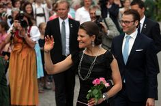 Princess Victoria Photos: HRH Crown Princess Victoria Of Sweden And Prince Daniel On Germany Visit - Day 1