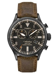 Timex Originals Mens Waterbury Chronograph Watch from House Of Watches. Trendy Watches, Sport Watches, Cool Watches, Watches For Men, Unique Watches, Elegant Watches, Affordable Watches, Expensive Watches, Timex Watches