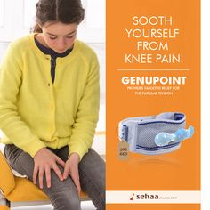 Relieve your PATELLAR TENDON KNEE PAIN with Soft knitted fabric of GENUPOINT.