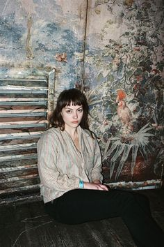 """Angel Olsen. """"I have to save my life, I need some peace of mind.. I am the only one now."""""""