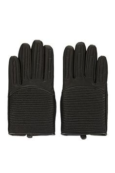 12 Pairs Of Gloves To Keep Your Digits Cozy #refinery29  http://www.refinery29.com/gloves#slide-8  Topshop Padded Leather Biker Glove, $52, available at Topshop. ...