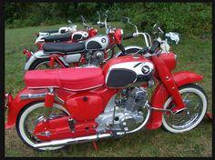 vintage honda 305