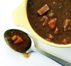 Split Pea Soup with Smoked Ham