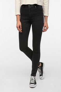 Cheap Monday Second Skin Jean - Black