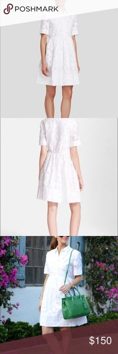 Kate Spade Tobin Dress Beautiful crisp white dress. Perfect for the springtime. like new. kate spade Dresses