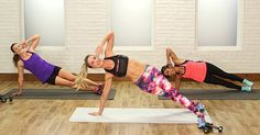 This high-intensity workout is anything but boring — time flies by as you jump, twist, and lift. Celebrity trainer and Barry's Bootcamp instructor Astrid Swan McGuire created a 20-minute scorch session that works every muscle in your body. You will