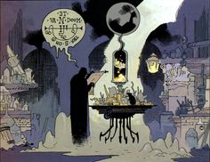 From Mignola's Fafhrd and the Gray Mouser comics