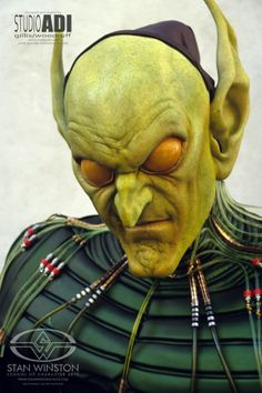 Spider-Man Green Goblin Makeup Test by Amalgamated Dynamics - The Goblin you never saw   Stan Winston School of Character Arts